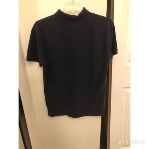 Polo by Ralph Lauren Shirts - Navy Blue Polo Collared T-Shirt !